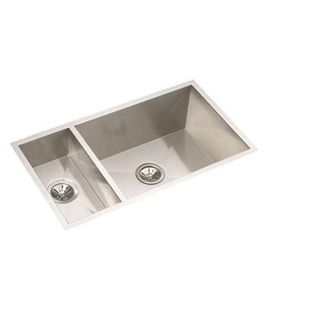 Elkay Undermount Kitchen Sink Elkay Crosstown Undermount Stainless Steel 32 In Basin Kitchen Sink Efu321910 The Home
