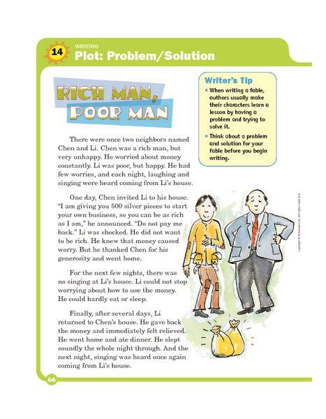 problem and solution reading worksheets problem and solution worksheets 2nd grade reading 2nd