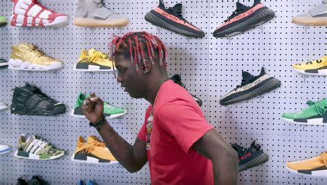 sneaker shopping lil yachty goes sneaker shopping with joe lapuma weartesters
