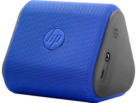 Speaker Mini Untuk Hp hp roar mini blue wireless speaker hp 174 official store