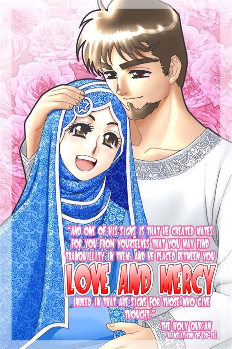 hanyasitikhadijah muslim manga cartoon  arts
