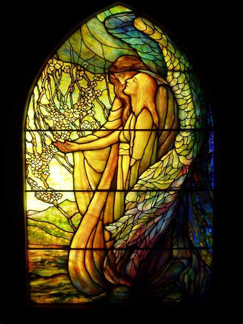 file guiding angel tiffany glass amp decorating company c