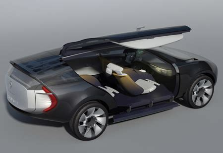 Different Types Of Car Doors by Future Transportation Renault Ondelios Futuristic Car