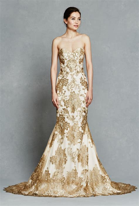 Wedding Dress Gold by Faetanini 2017 Wedding Dresses Gold