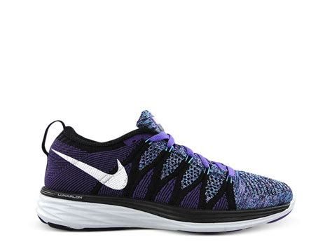 black and purple nike running shoes authentic sale womens nike flyknit lunar2 running shoes