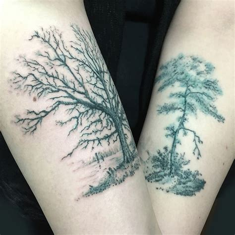 60 ash tree tattoos ideas grey and black ash tree tattoos on arm