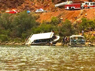 boat crash on colorado river moab times independent multiple injuries treated after