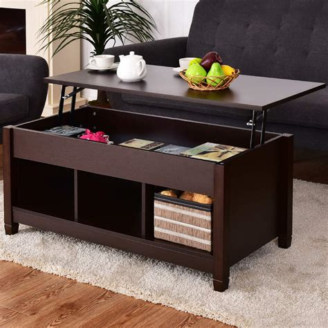 new modern coffee table lift top end table storage uncle