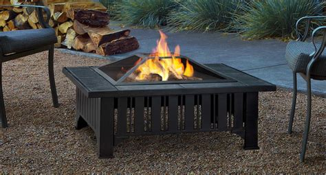 Firepit Wood Real 174 Lafayette Wood Burning Pit