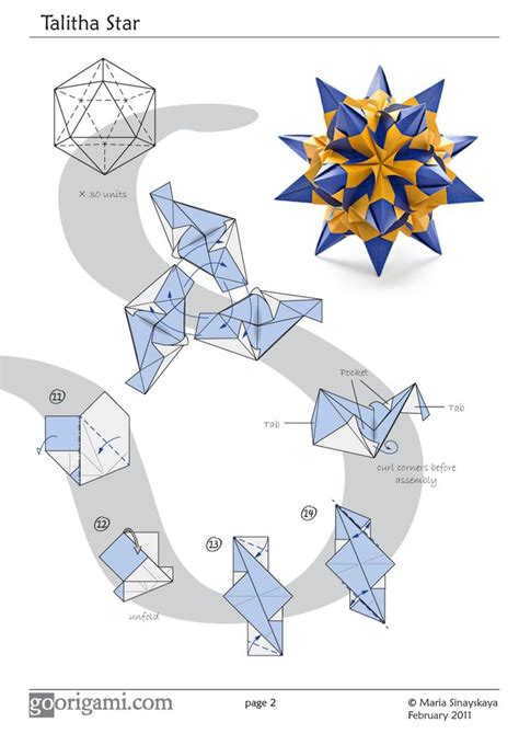 Origami Modular Diagrams - 1064 best origami balls and polyhedrons images on