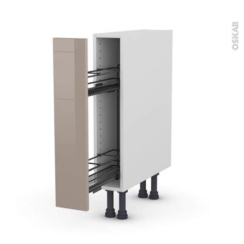 meuble cuisine 15 cm de large meuble range epice 15 cm