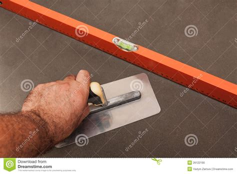 Concrete Floor Tools by Concrete Screed Stock Photo Image Of Flooring Object