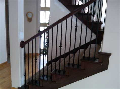 banister remodel stair remodeling ideas cool newel postwall moldinglove it