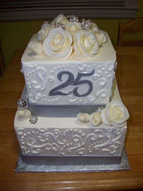 Cakes by Monica P: 25th Anniversary Cake