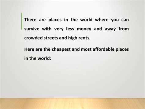 cheapest cities to live in the world thomas salzano the cheapest places to live in the world