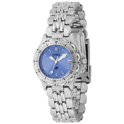 fossil s blue am3547 fossil