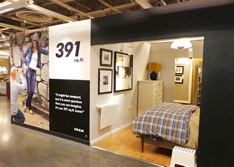 ikea model bedrooms photos see inside ikea brooklyn s tiny 391 sq ft model apartment inhabitat new