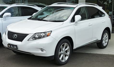 white lexus 2010 file 2010 2011 lexus rx 350 ggl15r my11 sports luxury