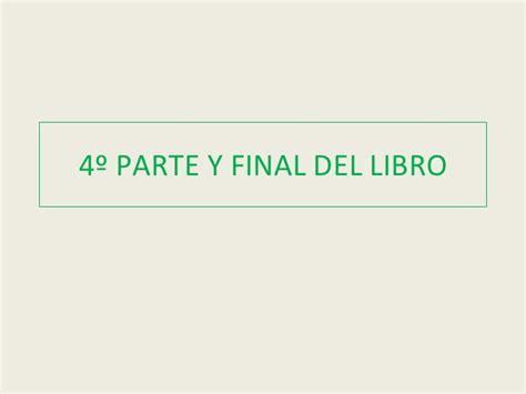 libro la parte escondida del 4 186 parte y final del libro