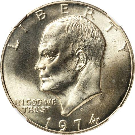 value of 1974 s eisenhower dollar sell modern coins