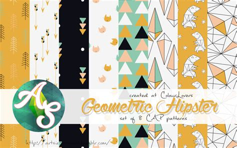 My Sims 3 Blog geometric hipster patterns pack the sims 3