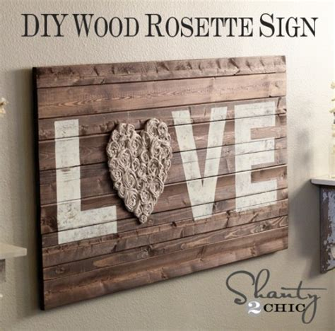 diy wall art recycling love decorated life