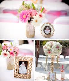 baptism floral centerpieces best 25 baptism ideas on baby