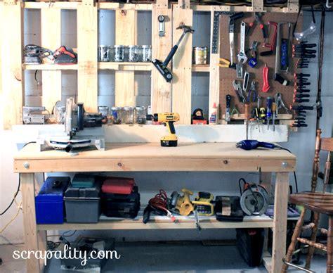 heap of change basement pallet tool storage