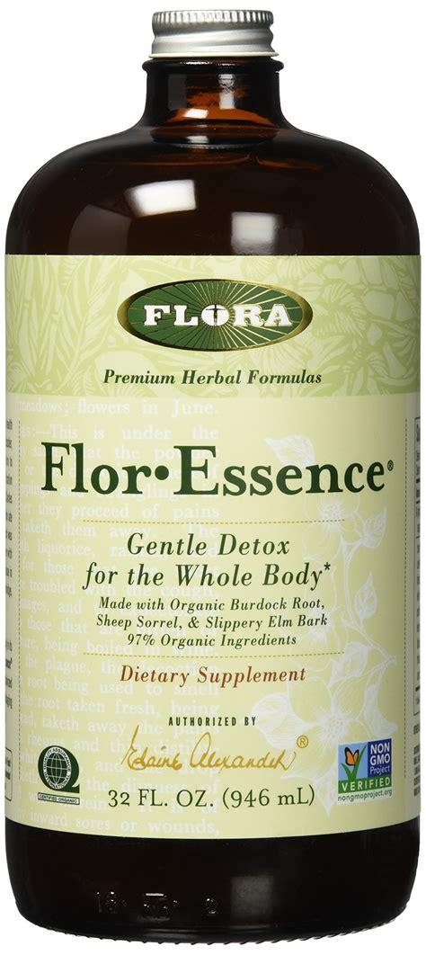 Flor Essence Gentle Detox Directions by Flora Flor Essence Tea Blend 2 1 8