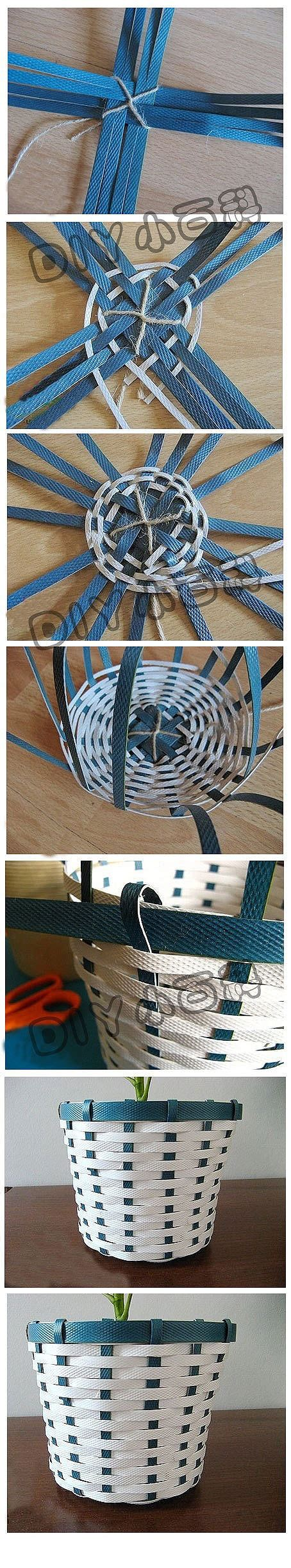 How To Make A Paper Weave Basket - diy basket weaving basket weaving