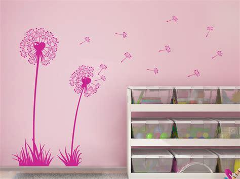 Wandtattoo Kinderzimmer Pink by Wandtattoo Herzblume Wandtattoo Net