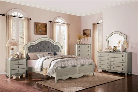 Toulouse Bedroom Furniture Toulouse Silver Bedroom Furniture Collection For 79 94 Furnitureusa