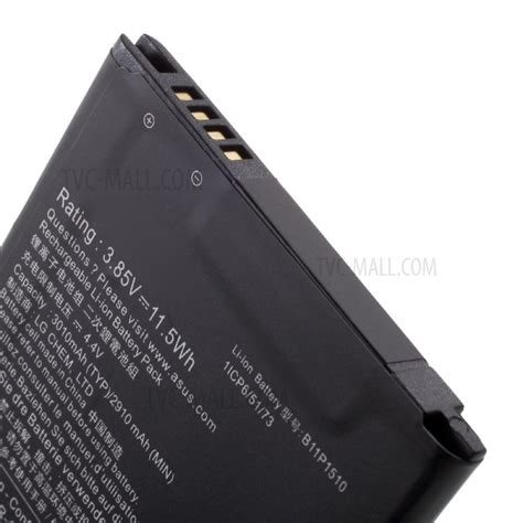 Battery Zenfone 3 Go Ze552kl 5 5 B11p1510 Baterai Original 1 oem b11p1510 3 85v 3010mah battery replacement for asus