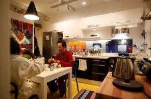 ikea installs small apartment design in paris metro