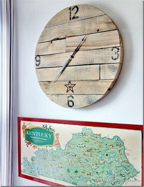 small round wall clock
