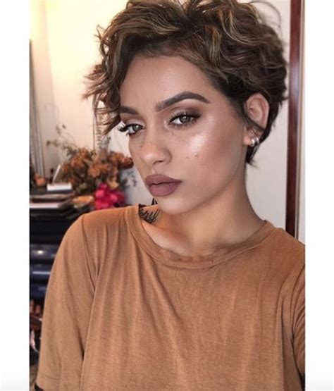 curly pixie cuting guide pretty wavy pixie mua myesha black hair information