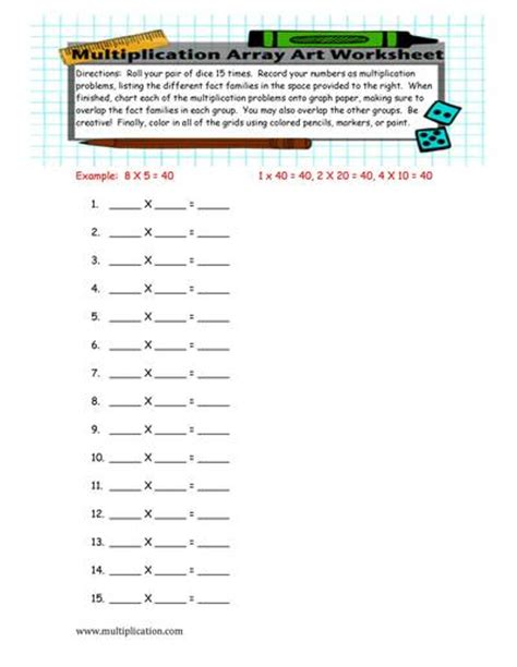 printable dot array paper multiplication worksheets 187 2 digit by 2 digit