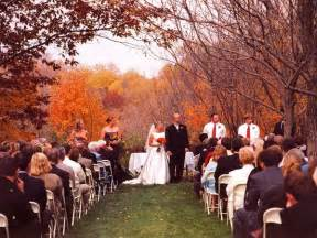 fall garden wedding benefits of a fall wedding la vita events
