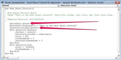 tutorial excel 2013 macros how to write a macro in excel 2013writings and papers