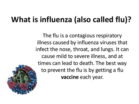 What Is The by What Is Influenza Also Called Flu