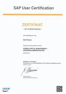 Ihk Handelsfachwirt by Zertifikate Sap Hcm Consulting