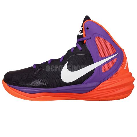 purple and orange basketball shoes nike prime hype df winterized dual fusion purple orange