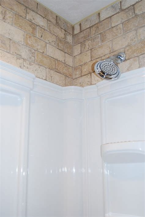 acrylic bathtub surrounds 100 ideas to try about tiling above shower surround