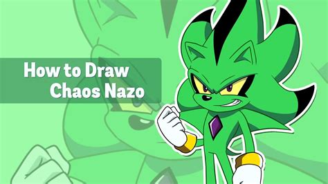 how to create doodle how to draw chaos nazo tutorial