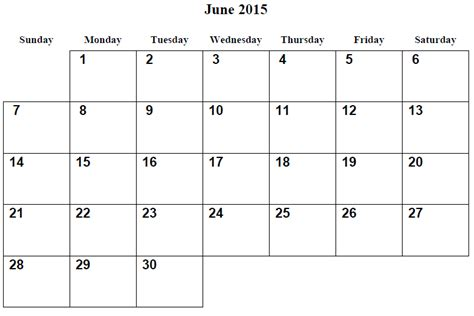 printable day planner june 2015 june 2015 calendar gallery