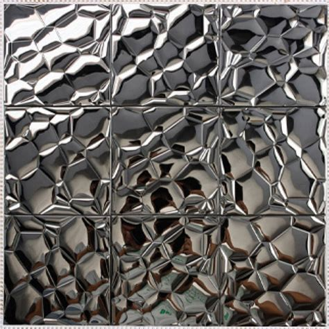 metallic kitchen backsplash metallic backsplash make a statement with a metallic