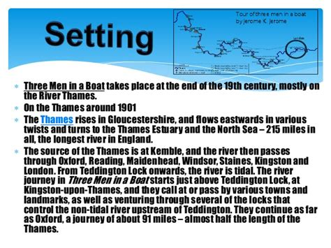 three men in a boat setting three men in a boat chapter 11 15 summary along with