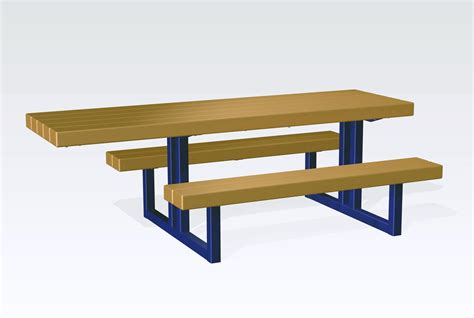 metal picnic bench metal picnic table frame
