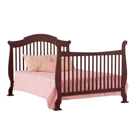 Side Crib by 4 In 1 Fixed Side Convertible Crib In Cherry 04587 254