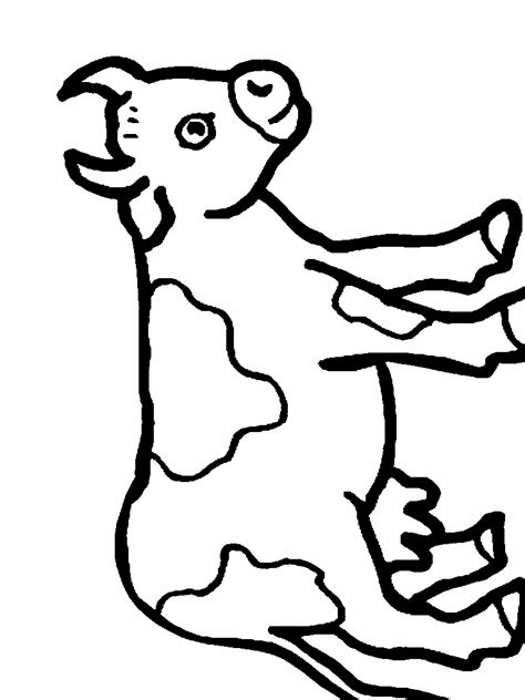 dairy cow coloring page holstein cow coloring pages